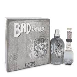 Bad For Boys Eau De Toilette Spray + Free LED Watch By Clayeux Parfums