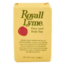 Royall Lyme Face and Body Bar Soap By Royall Fragrances