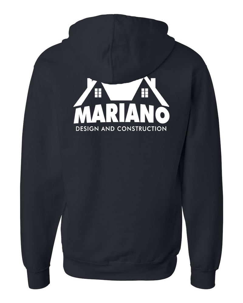 Mariano Construction Full-Zip Hoodie - Navy