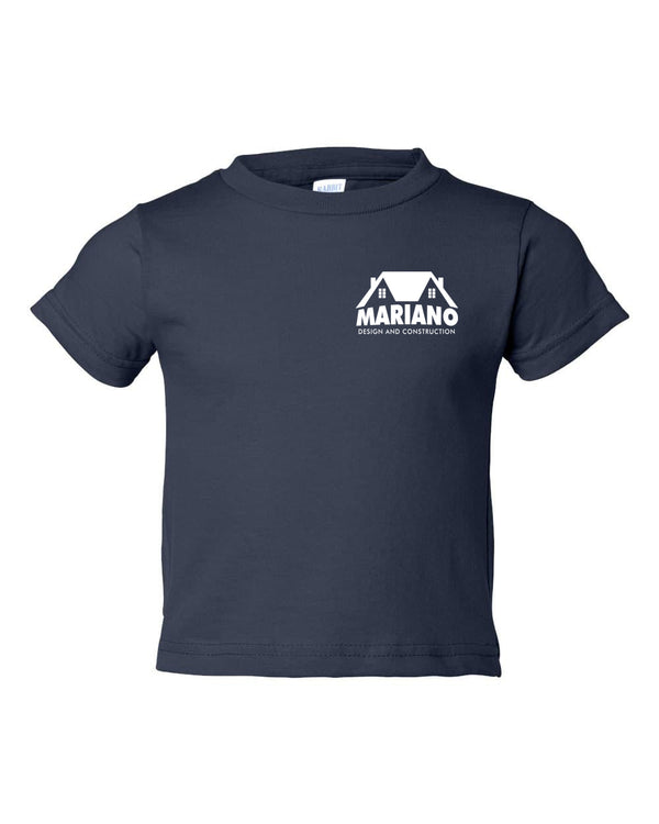 Mariano Construction Kids T-Shirt - Navy