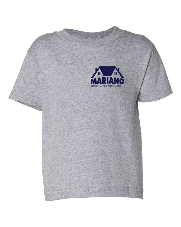 Mariano Construction Kids T-Shirt - Heather Gray