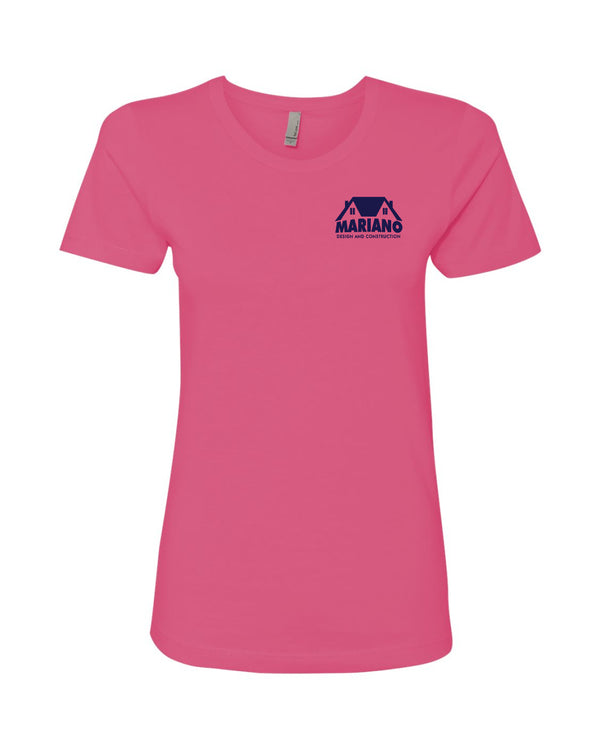 Mariano Construction Pink T-shirt