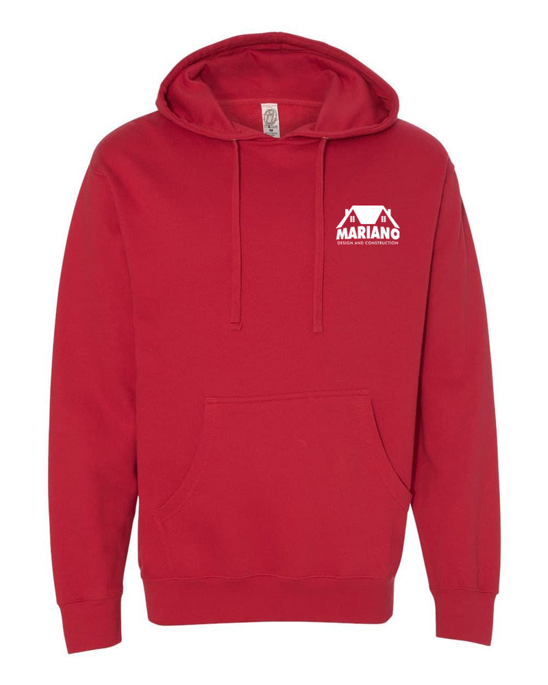 Mariano Construction Hoodie - Red