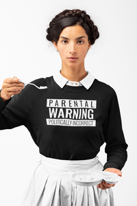 Politically Incorrect Jumper | Black