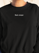 Load image into Gallery viewer, Black Jumper | Black
