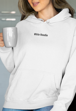Load image into Gallery viewer, White Hoodie | White