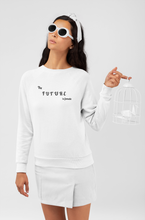 Load image into Gallery viewer, The Future Is Female Jumper | White