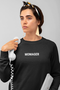 Momager Jumper | Black