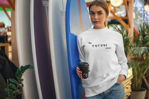 The Future Is Female Jumper | White