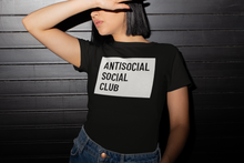 Load image into Gallery viewer, AntiSocial T-Shirt | Black