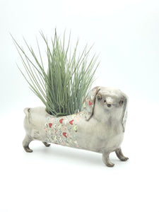 Love Dachshund Planter 2.0