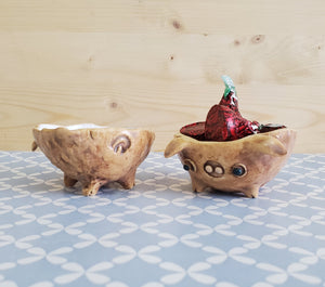 Piggy candle holders