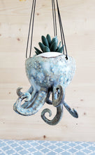 Load image into Gallery viewer, Hanging Octopus Planter