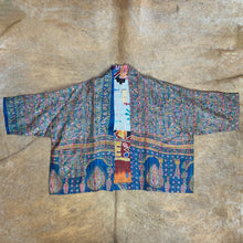 Load image into Gallery viewer, Reversible Silk Kantha Jacket with Pockets