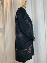 Load image into Gallery viewer, Metallic Pink Urushi Design Silk Kimono with Pockets