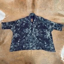 Load image into Gallery viewer, Oversized Quilted Kantha Jacket with Pockets