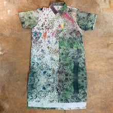 Load image into Gallery viewer, Printed Linen Shirt Dress