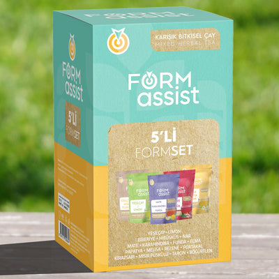 Form Assist 5'li Form Çay Seti