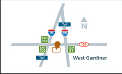 directions to Center for Maine Craft in West Gardiner