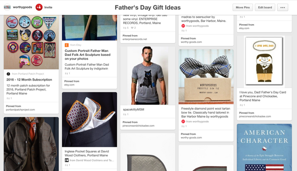 Maine Father's Day Gift Ideas by Dory Smith Graham of worthygoods, Bar Harbor Maine