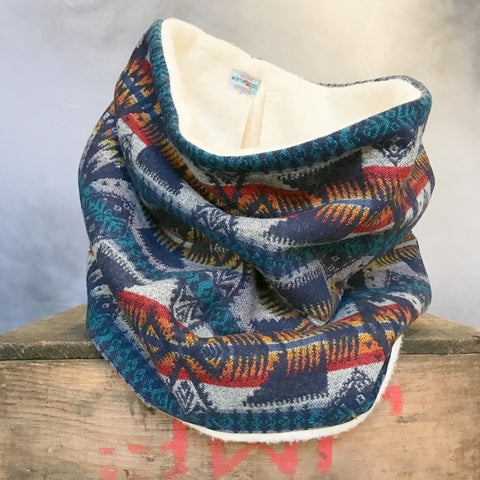 First Nations Organic  Hygge Neckwarmer Cowl Scarf