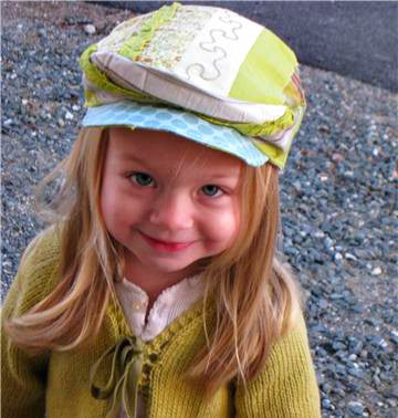 Sewing Pattern Kids Newsboy Hat – worthygoods 5f511b6c033