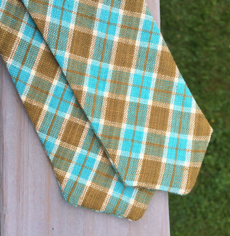 Bow Tie Freestyle Madras Diamond Point