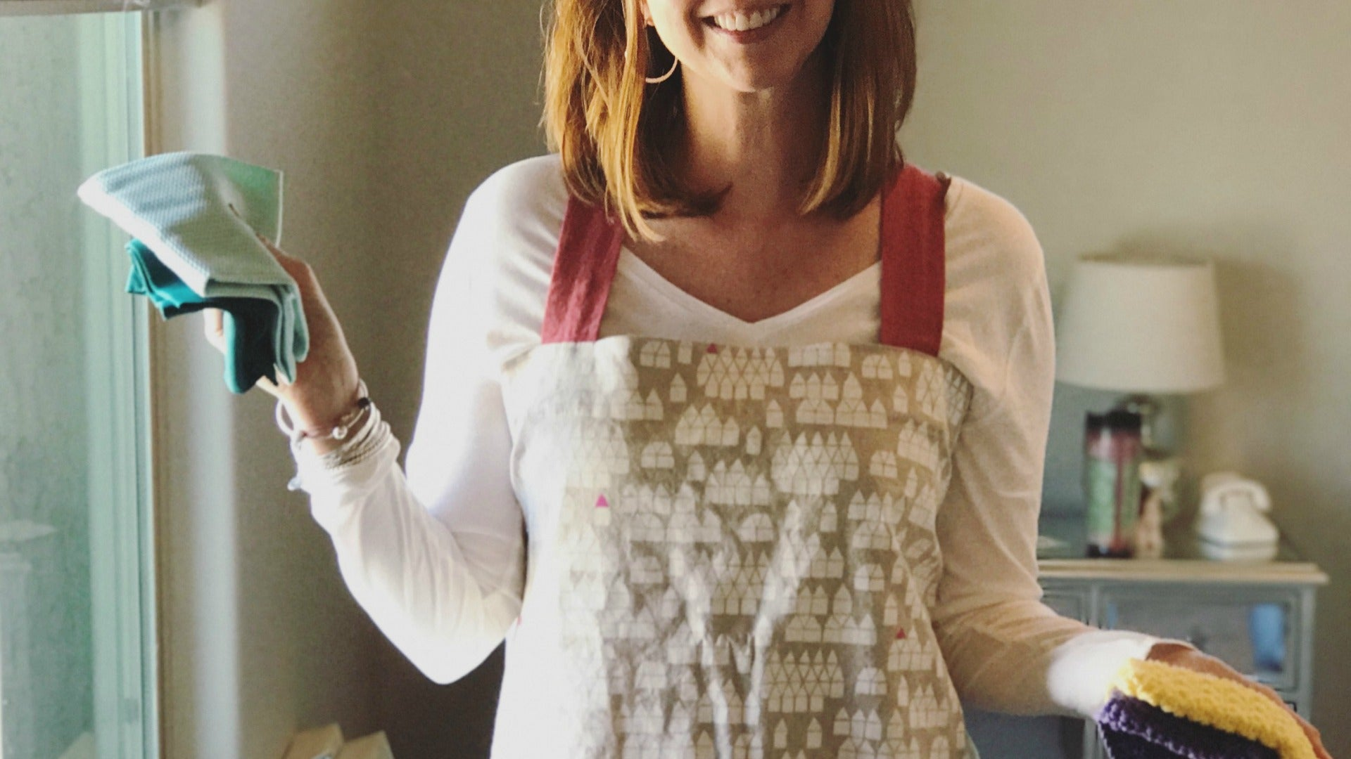 Linen pinafore smock pastry aprons for breezy summer wear and work.  Handmade in Maine by worthygoods.