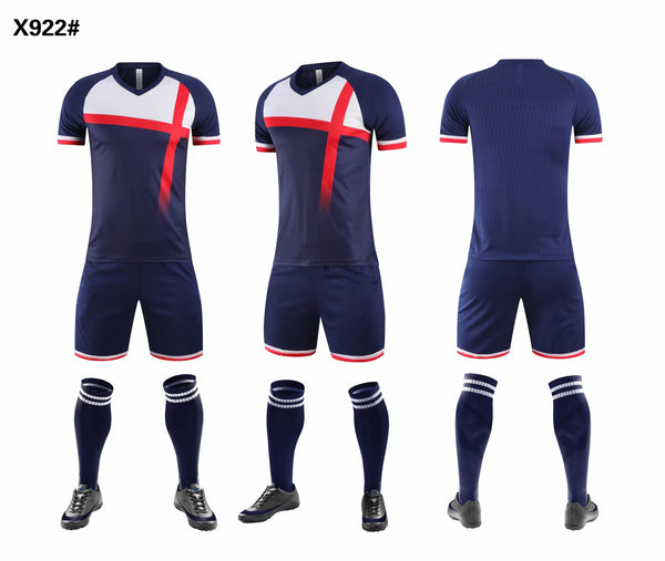Men soccer jersey DLS-922 style custom soccer shirts AAA quality wholesale soccer uniforms DIY football kits