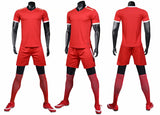 LIB1904 men soccer jerseys football uniform soccer shirts kits