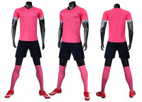 LIB2003 men soccer jerseys football uniform soccer shirts set