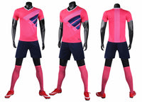 LIB2005 men soccer jerseys football uniform soccer shirts set