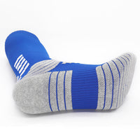 New Adult Professional Nylon Pure Cotton Towel Bottom Soccer Socks LT659 (Long/High)