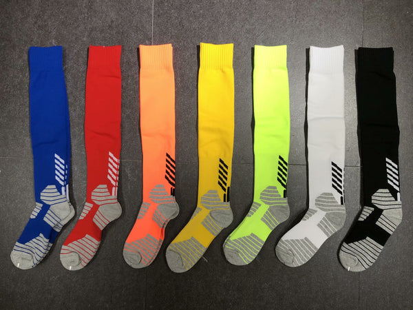 Wholesale soccer socks kids soccer sock youth football sock team soccer socks 6 colors