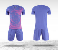 Men/kids soccer shirt sets YL9210 for wholesale cheap price custom