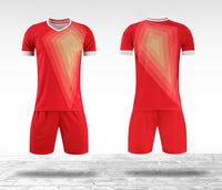 Soccer uniforms YL9212 wholesale football shirt and shorts for men/kids