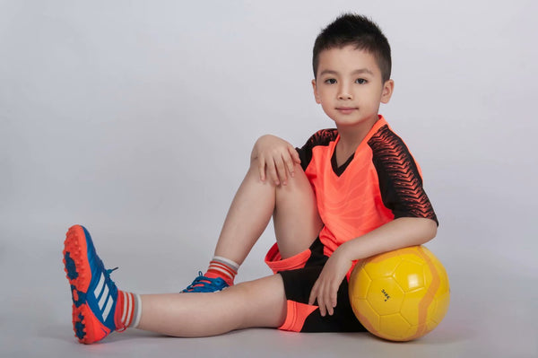 Wholesale soccer jersey kids soccer jerseys youth soccer jerseys k8601 team soccer uniforms football kits