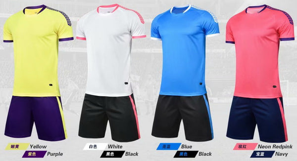 Team soccer uniforms custom soccer jerseys aaa quality soccer jerseys wholesale team men and kids soccer shirts