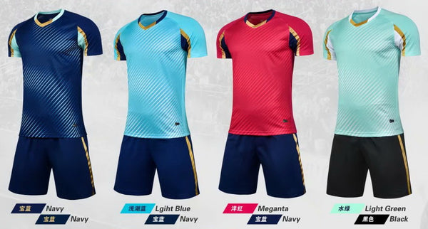 Men soccer jersey wholesale team soccer uniforms custom soccer shirts football kits design your team logo