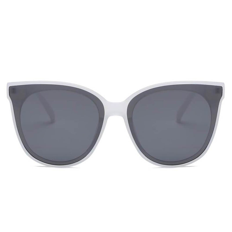 GARLAND | S1075 - Women Round Cat Eye Sunglasses