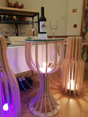 Wine Glass Table