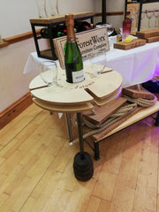 Wine Caddy Table