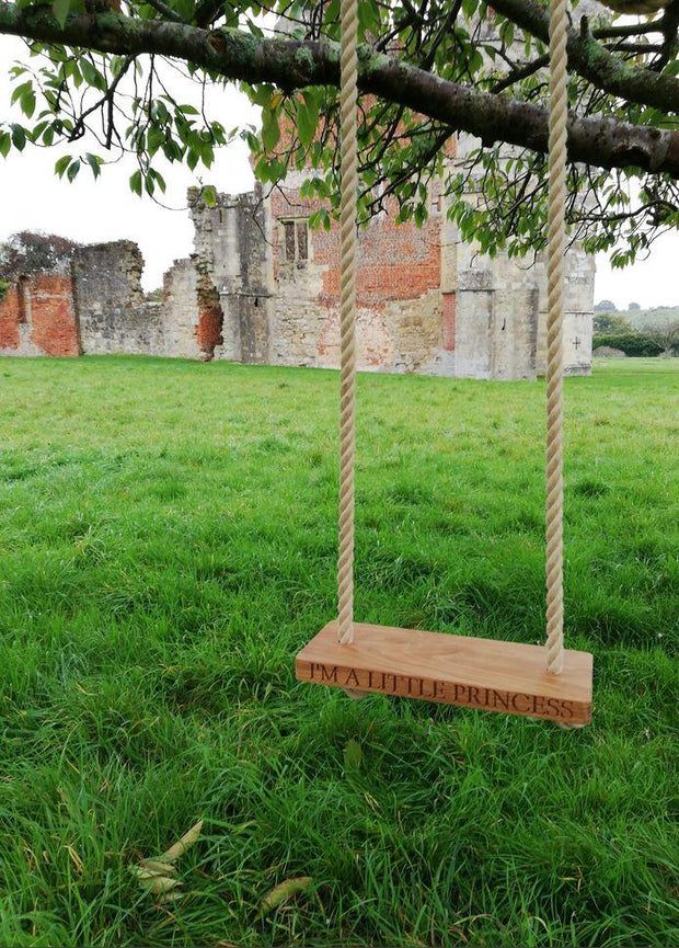 Childrens Oak Garden Swing