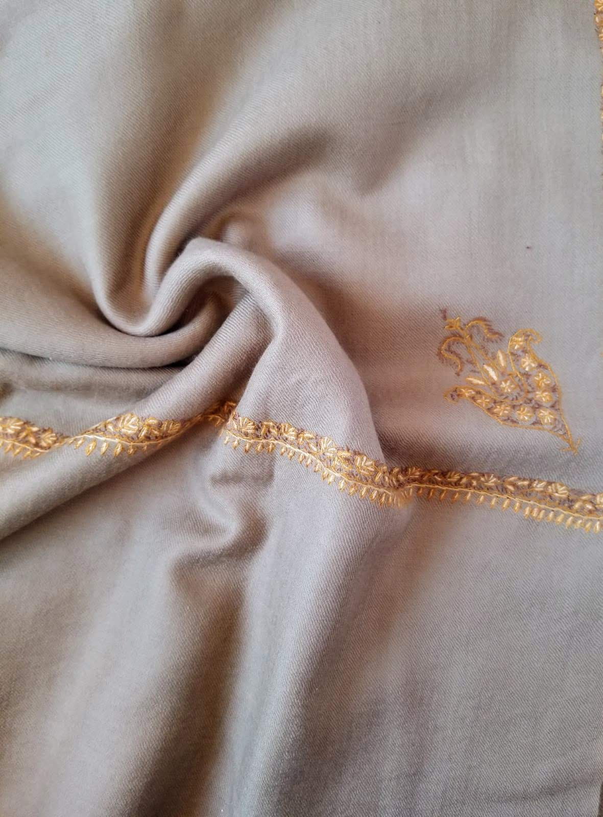 Hand Embroidered Kashmiri Shawl Model #2