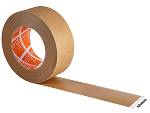"Eco Friendly Writeable Brown Kraft Paper Tape - 2"" x 60 yards"