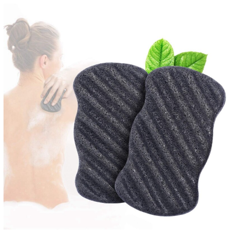 Eco Friendly Natural Konjac Body Bath & Shower Sponge - 4 pcs