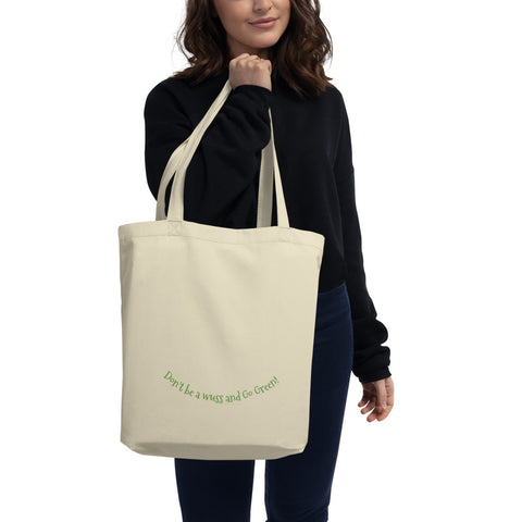 Eco Friendly Organic Cotton Tote Bag