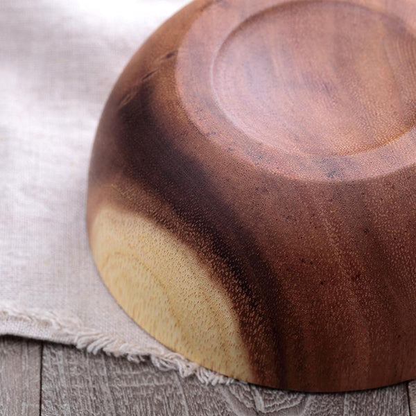 Eco Friendly Natural Wooden Salad Bowl