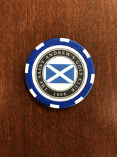 Load image into Gallery viewer, Saint Andrew's Logo Poker Chips