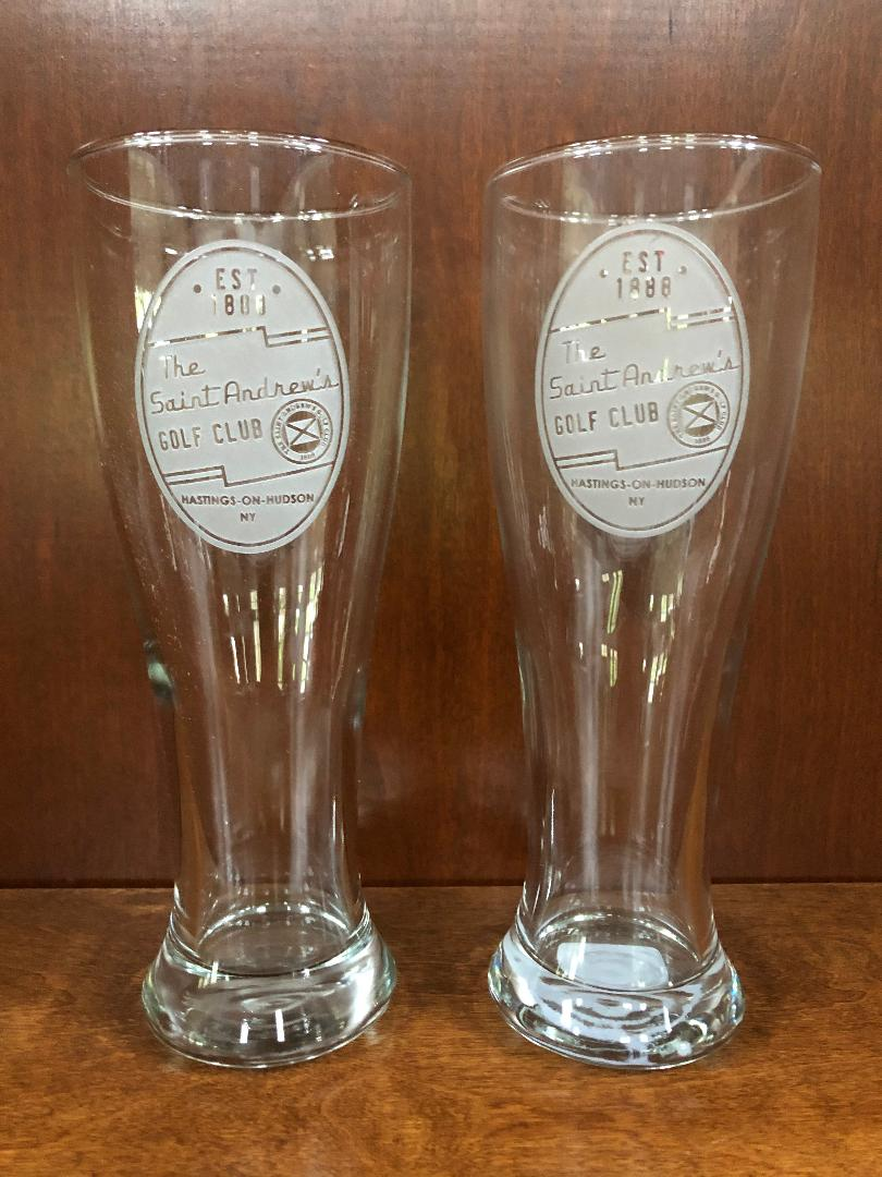 Signs by the Sea Pilsner Glasses